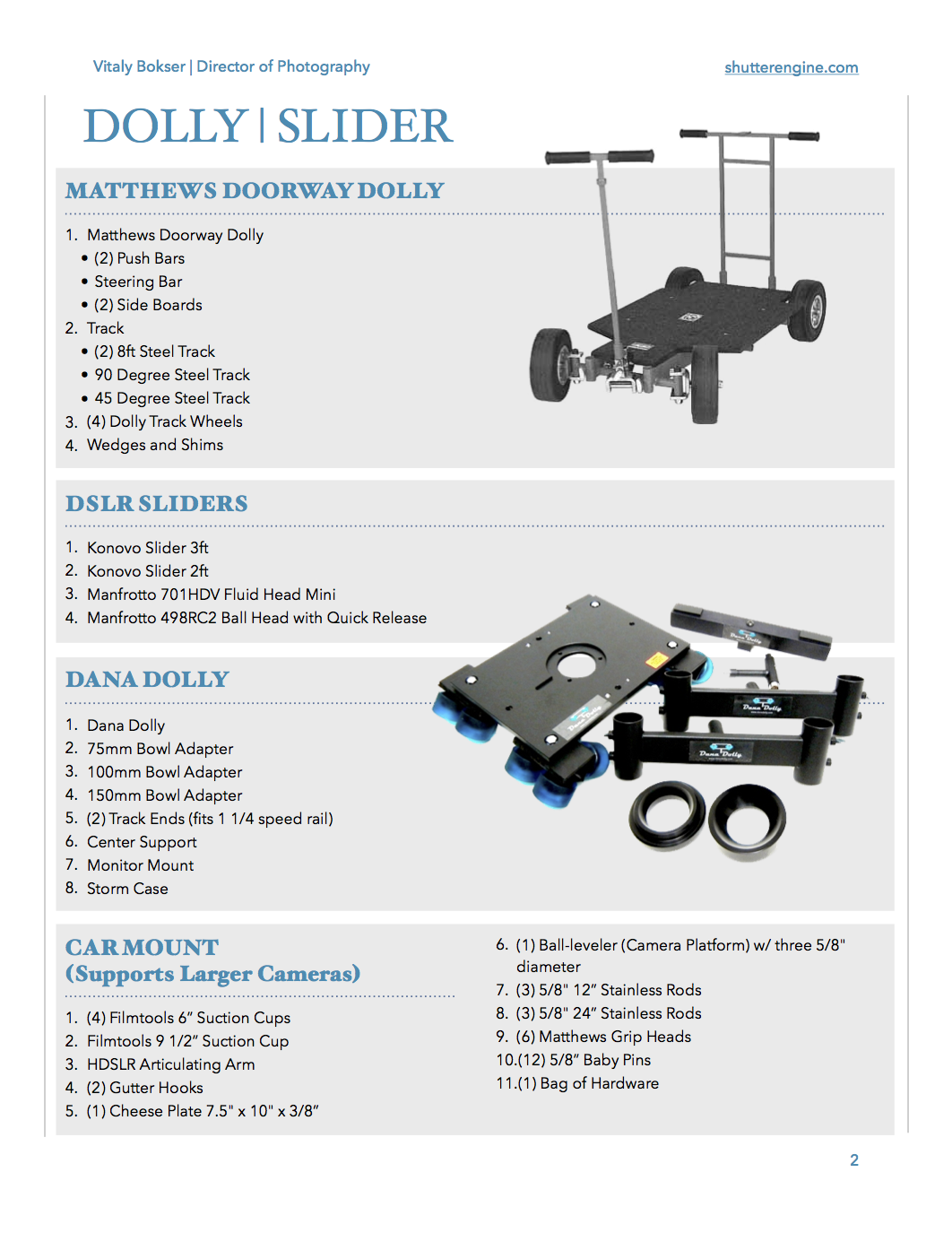 Grip and Electric Package Pg 2
